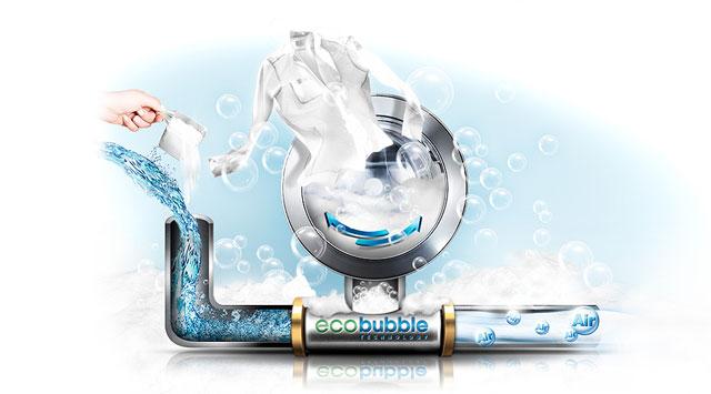 sistemul de spalare ecobubble de la Samsung