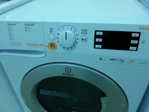 Masina de spalat cu uscator – Indesit XWDE 961480X