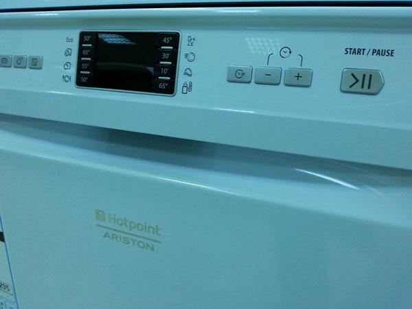 afisaj masina de spalat vase Hotpoint LFF8B019