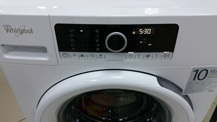 panou control masina de spalat Whirlpool FSCR70414