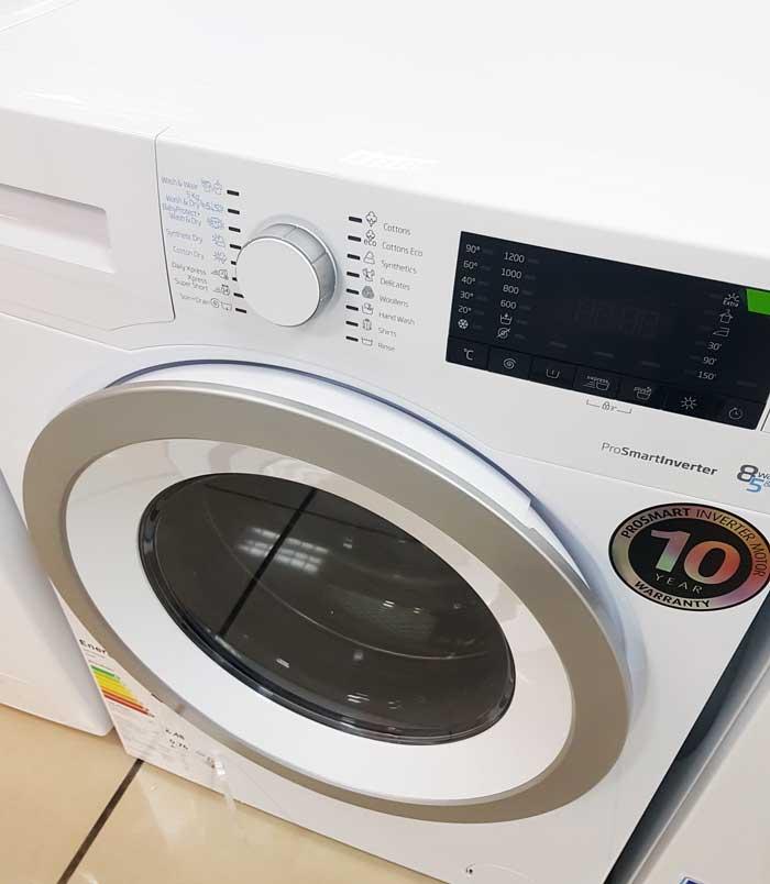 masina de spalat buna cu uscator ieftina Beko HTV8633XS1